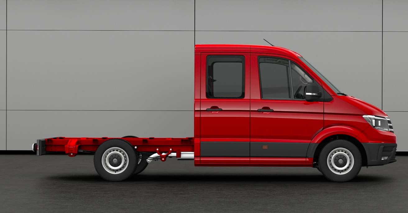 VW Crafter Fahrgestell